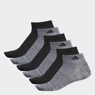 Men's Basketball Grey Superlite Low-Cut Socks 6 Pairs
