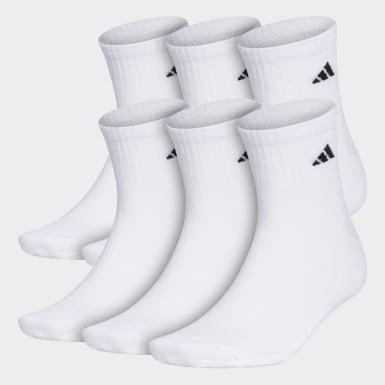 Athletic Cushioned Quarter Socks 6 Pairs XL