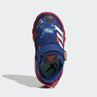 Infants Training Blue Marvel Spider-Man ActiveFlex AC Shoes