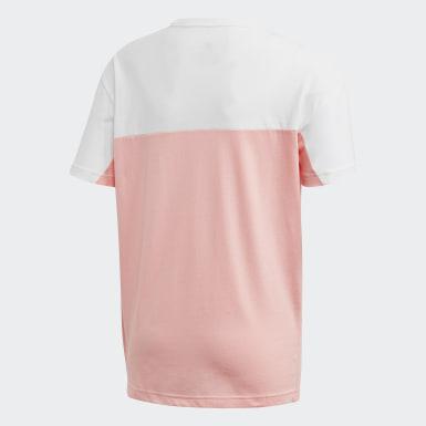 Boys Originals Pink Colorblock T-shirt