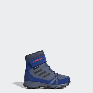 Bota adidas TERREX Snow CF CP CW Azul Niño TERREX