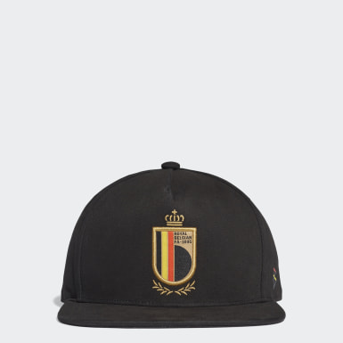 Football Black Belgium Snapback Cap