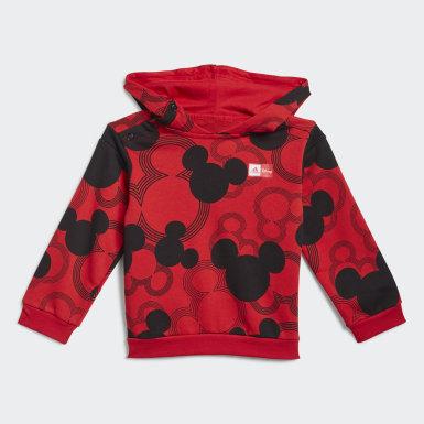 Fato de Treino Mickey Mouse Vermelho Rapazes Treino