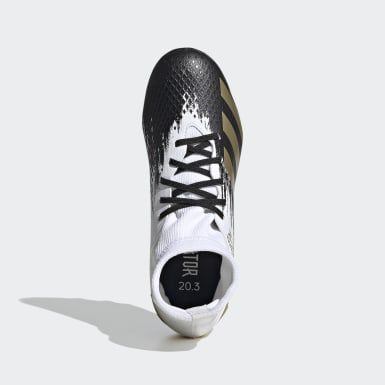 Zapatos de fútbol Predator Mutator 20.3 Multiterreno Blanco Niño Fútbol