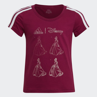 Girls Athletics Purple Disney Tee