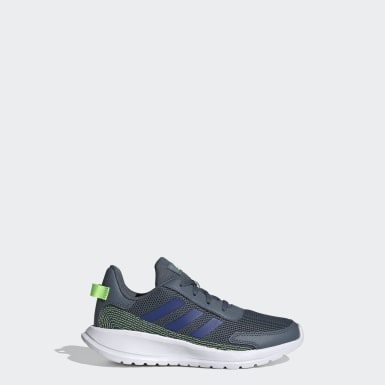 Children Running Blue Tensor Run Shoes