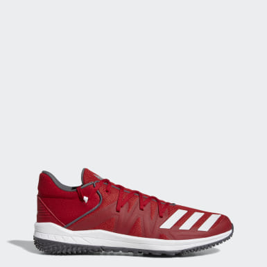 Baseball Red Speed Turf Shoes
