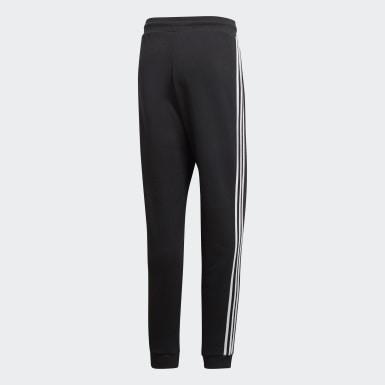 Pants 3 Franjas Negro Hombre Originals