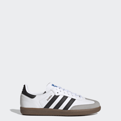 Youth 8-16 Years Originals White Samba OG Shoes