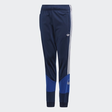 Děti Originals modrá Sportovní kalhoty Bandrix
