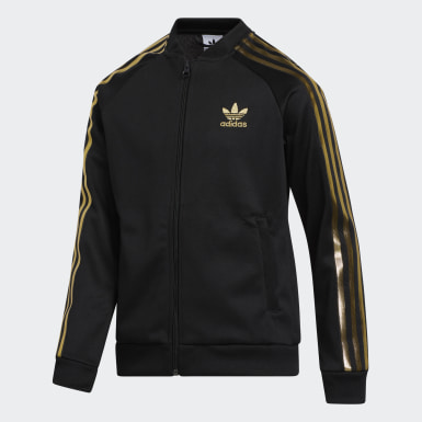 Kids Originals Black SST 24K Track Top