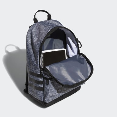 Children Training Grey Classic 3-Stripes Backpack