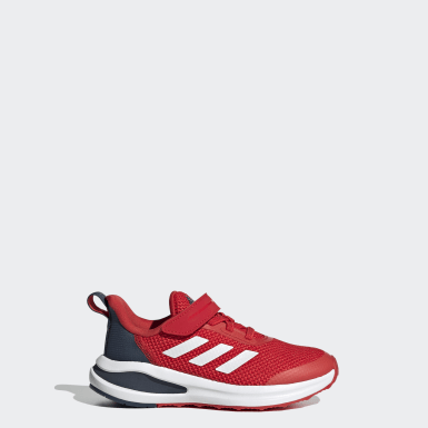Chaussure FortaRun rouge Enfants Course