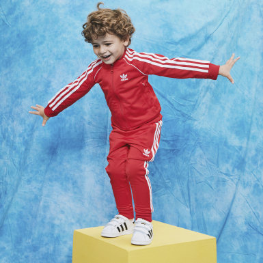 Kids Originals Red SST Track Suit