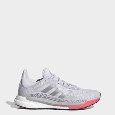 Sapatos SolarGlide 3 Cinzento Mulher Running