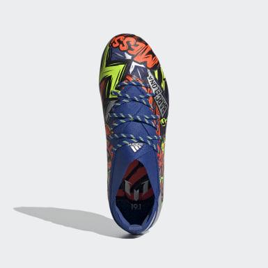 Botas de Futebol Nemeziz Messi 19.1 – Piso firme Azul Criança Futebol