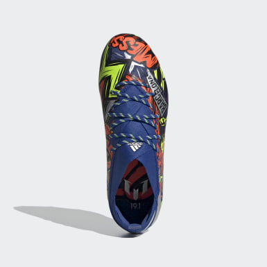 Barn Fotboll Blå Nemeziz Messi 19.1 Firm Ground Boots