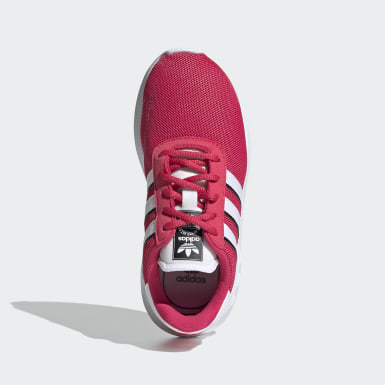 Kids 4-8 Years Originals Pink LA Trainer Lite Shoes