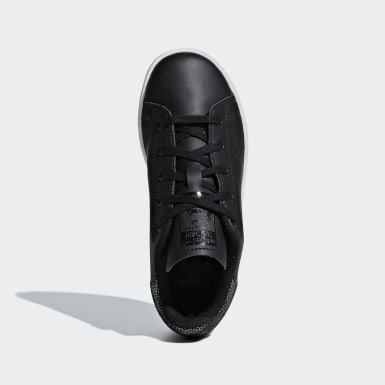 Çocuklar Originals Black Stan Smith Ayakkabı