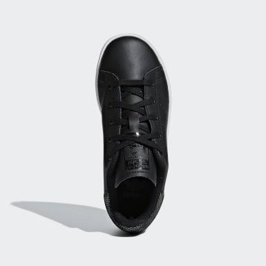 Children Originals Black Stan Smith Shoes