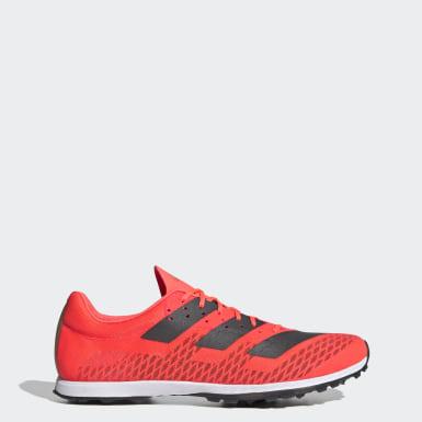 Männer Leichtathletik Adizero XC Sprint Schuh Rosa