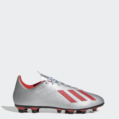Men Football Silver X 19.4 Flexible Ground Boots