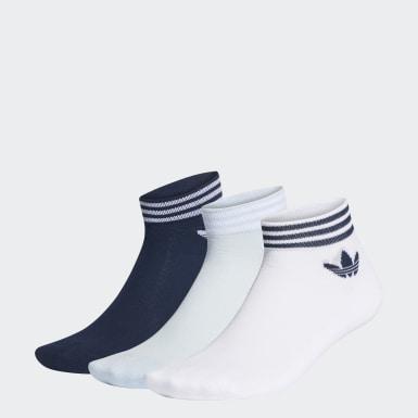 Calcetines cortos Trefoil Blanco Originals