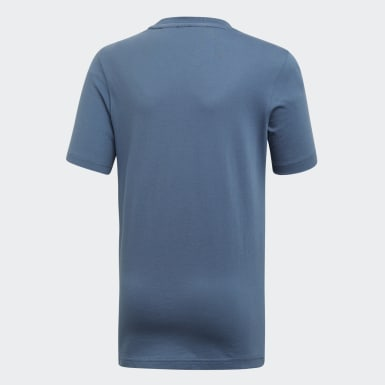 Boys Yoga Blue Must Haves Badge of Sport Tee