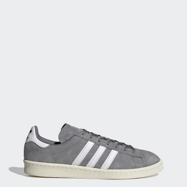 Men Originals Grey Campus 80s Shoes
