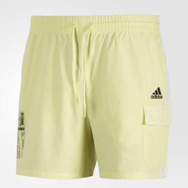 Shorts Cargo ID Amarillo Hombre Athletics