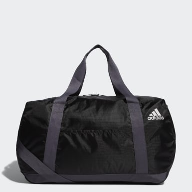 Training Black Packable Duffel Bag