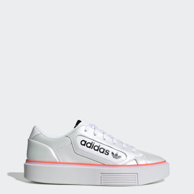 Women's Originals White adidas Sleek Super Shoes