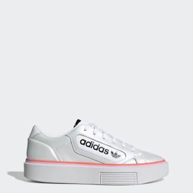 Women's Originals White adidas Sleek Super Shoes