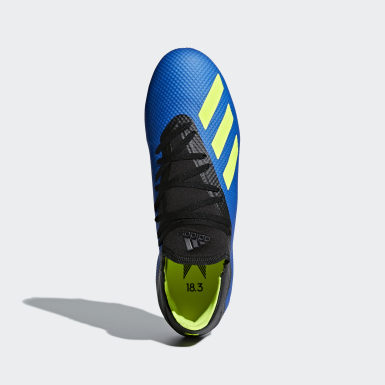 Football Blue X 18.3 Firm Ground Boots