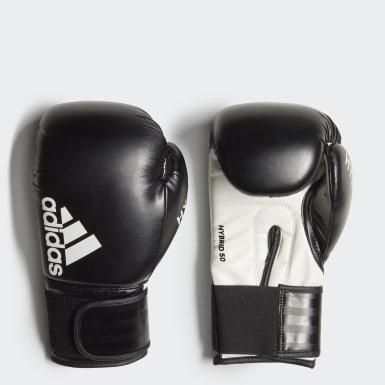 Box čierna Boxerské rukavice Hybrid 50