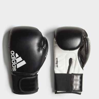 Boxing Black Hybrid 50 Boxing Gloves