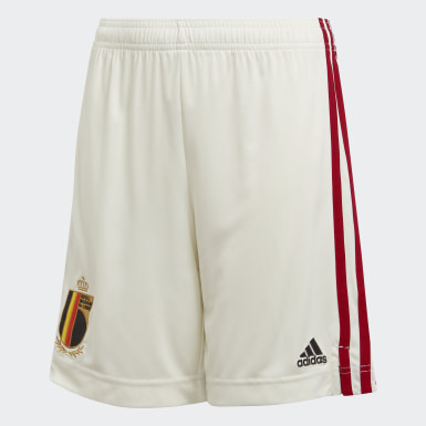 Belgium Away Shorts Bialy
