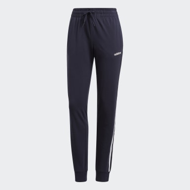 Women Essentials Blue Essentials 3-Stripes Pants