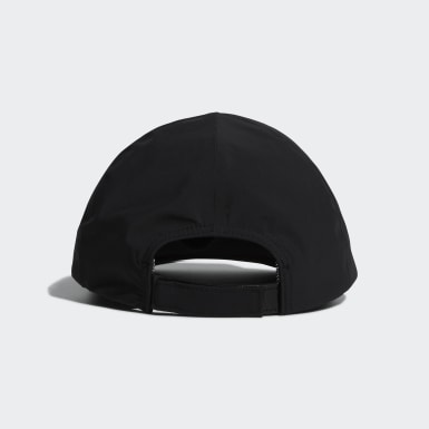 Golf Black Rain Cap