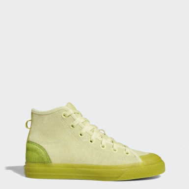 Chaussure Nizza Hi RF jaune Femmes Originals