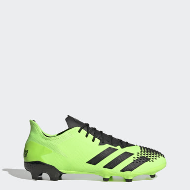Men Soccer Green Predator Mutator 20.2 Firm Ground Cleats