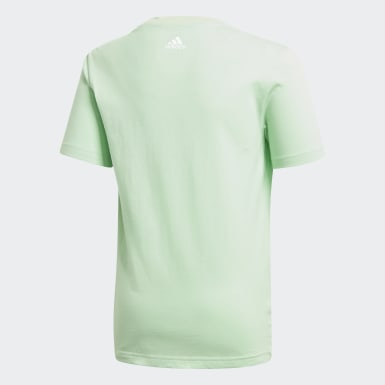 Boys Sport Inspired Green Badge of Sport Tee