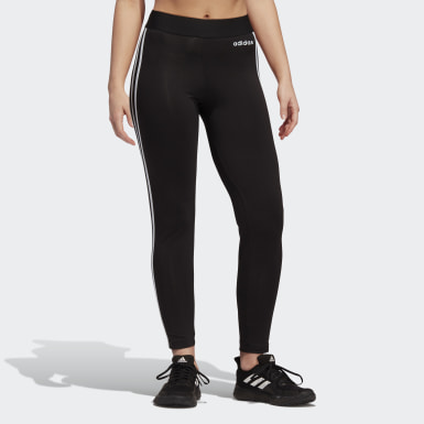 Tight Essentials 3-Stripes noir Femmes Essentials