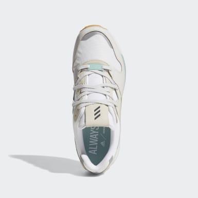 Golf White Adicross ZX Spikeless Shoes