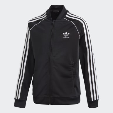 Kids Originals Black SST Track Top