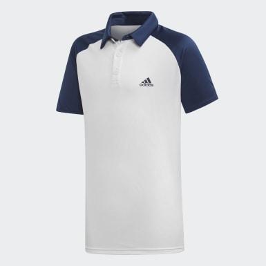 Polera con Cuello Club Azul Niño Tenis