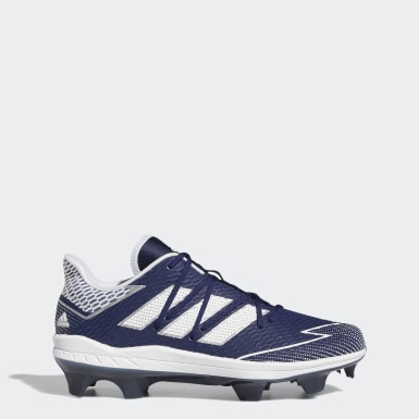 Men's Baseball Blue Adizero Afterburner 7 Pro TPU Cleats