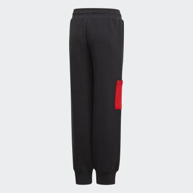 Pantalon LEGO® Cuffed noir Adolescents Entraînement