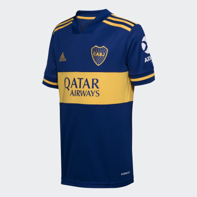 Camisa 1 Boca Juniors 20/21 Azul Meninos Futebol