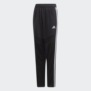 Youth Soccer Black Tiro 19 Warm Pants